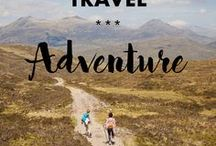 Travel // ADVENTURES / Find inspiration for the best destinations & coolest outdoor adventures around the world.