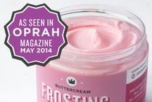 Frostitution / Did you hear?  Our Homemade Buttercream Frosting made the May 2014 of O Magazine! Order it and see what all the buzz is about! http://cupcakeroyale.bigcartel.com/