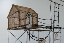 Wire and Metal installation/sculpture