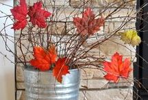 fall ideas / #diy #fall #idea