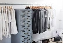 walk-in closet / #design #interior design #home decor #walk-in closet