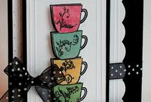 Cards... Coffee & Tea / A great way to give some cheer and comfort!