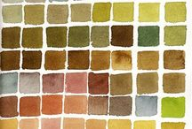 Colour Combos / Colour co-ordination made easy for your cards, scrapbooks, quilts, home decor etc. etc.