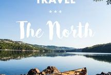 Travel // THE NORTH / Do you love the North as much as I do? Find travel guides * inspiration from Alaska to Iceland and Siberia right here!