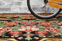 on the floor. / Stunning rugs and floor coverings that bring a design together.