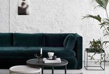 on the sofa. / Luxury furnishing fabrics that bring furniture to life.