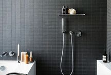 in the bathroom. / Creative Inspiration for bathrooms, powder rooms and lavatories.