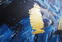 Primarily Blueish Paintings / My Work. Thank you for looking: http://pattifriday.bigcartel.com / by Patti Friday