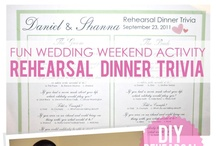 Rehearsal Dinner / Ideas and suggestions to make your Rehearsal Dinner not only easy but memorable!  / by Bridal Party Tees