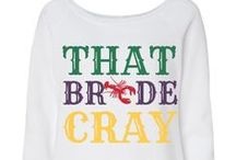 Mardi Gras Themed Wedding! / Ain't no Party like a Mardi Gras Wedding Party! / by Bridal Party Tees