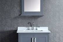 Single Sink Bath Vanities