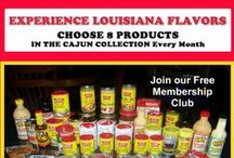 Cajun Food Club / Cajun Food Club allows you to choose 8 Cajun food products on auto-ship..$39 a month with shipping included!