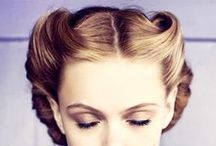 """Styled / """"I think that the most important thing a woman can have- next to talent, of course- is her hairdresser.""""  ― Joan Crawford"""