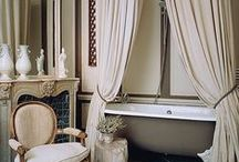 Traditional Style Bathrooms / In every home you can find at least one thing in a traditional classic design. Here are the best ideas, products, and designs for traditional bathrooms from British Colonial  to French Countryside designs.