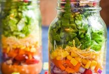 Salads and Dressings / Need to eat more plants? Salad allow you to meet your vegetable and sometimes fruit quota for the day.