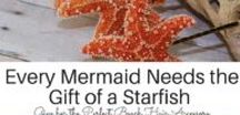 7 Sea Inspired Gifts for Your Little Mermaid / Do you have that splashy friend who loves all things mermaid? seashells, ocean, beach hair, seahorses, mermaid blankets, mermaid mugs, mermaid t-shirts, mermaid hair, mermaid clothes, starfish, seashell crowns, seshell tiaras, mermaid crowns, mermaid gifts, mermaid accessories