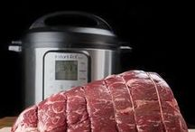 Instant Pot Recipes / The Instant Pot has become a popular kitchen appliance recently.  You can make healthy and delicious meals quickly.
