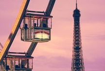 *Paris*~The French Connection~ / Once I overcome my fear of heights & flying...someday. *sigh* / by Jo Niehoff