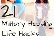 Military Housing Ideas / by Chelle