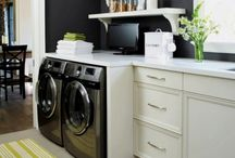 laundry room / by a little studio