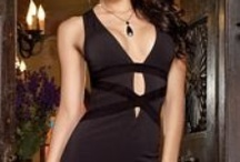 """The Little Black Dress / """"One is never over or undressed in a little black dress."""" ~ Karl Lagerfeld / by Lingerie Diva"""