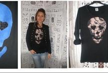 CAMISETAS con CALAVERAS / Camisetas y diseños exclusivos artesanales www.facebook.com/Saison.camisetas www.facebook.com/Camisetas.saison / by SAISON