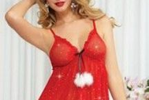 Christmas at Lingerie Diva / Whether you've been naughty or nice, Lingerie Diva has the sexiest Christmas lingerie for you!