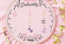 Embroidery / DIY embroidery ideas, projects, and techniques for patient hands and curious eyes.