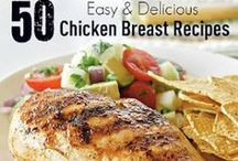 *Chicken~Turkey~Fish~Seafood* / One if by land~ Two if by sea~~for recipes, just click on photos! / by Jo Niehoff