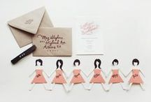 * Bridesmaids ideas. / Bridesmaids ideas for my wedding, how to ask your bridesmaid, bridesmaids gifts, wedding inspiration / by Wear In LA