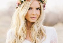 * Wedding Day Makeup & Hair / Inspiration for my hair and make up for my wedding day, bridal style, bridal make up, photography, wedding style / by Wear In LA