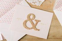 * invitations / Wedding invitation design and inspiration… / by Wear In LA