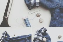 Fashion DIY / Stylish DIY tutorials and projects that you can wear, style, fashion, DIY, fashion blogger style / by Wear In LA