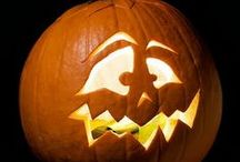 *All Hallows Eve~~ Part II~~Pumpkin Carving Patterns~ Party Ideas* / I Love Fall & Pumpkins & Parties ! / by Jo Niehoff