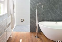bathrooms / by a little studio