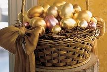 Happy Easter! / Easter decorating and craft ideas.  / by Heaven Foster
