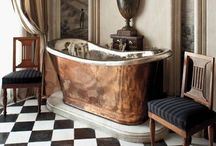 Beautiful Spaces ~ Bathrooms / Fabulous bathrooms. / by Heaven Foster