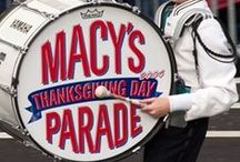 *Macy's Thanksgiving Day Parade* / Thanksgiving day doesn't start~~~~ until the parade starts! / by Jo Niehoff