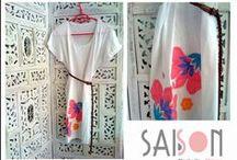 VESTIDOS / Vestidos de algodón diseñados por Saison. Consíguelos en nuestra fanpage https://www.facebook.com/Saison.camisetas / by SAISON