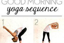Routines / morning routines, routines, beauty, yoga, make-up, stretching, evening routines