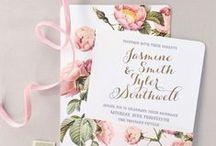 Düğün Davetiyesi / Düğününün ilk izlenimini verecek olan düğün davetiyenden menü kartına ilham alacağın en güzel kart örnekleri burada!