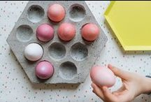 DIY Easter / DIY projects and handmade product picks for a lovely Easter and spring.