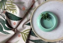 Handmade + DIY kitchen decor / DIY projects and handmade picks for a gorgeous, lively kitchen!