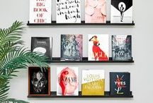 Books & Bookshelves / #mustread books and beautiful bookshelves!