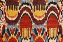 Pattern and Design Ikats and Damasks