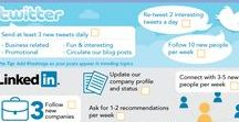 Infographics / Infographics about Social media and related media