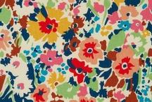 Patterns, prints, fabrics