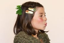 Kids fashion | Little gypsy / bohemian, crafted and fur