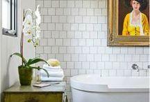 Interiors // Bathroom / by Meghan Kennedy