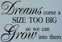 Believe in Your Dreams / Believe in Your Dreams / by Cross My Heart Bags On Etsy